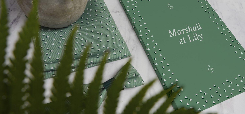 livre d'or sur-mesure, livre personnalisé, cadeau mariage, nœud papillon