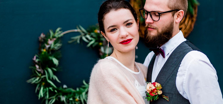 livre d'or personnalisé, livre d'or mariage, mariage bohème, look mariés, cadeau mariage