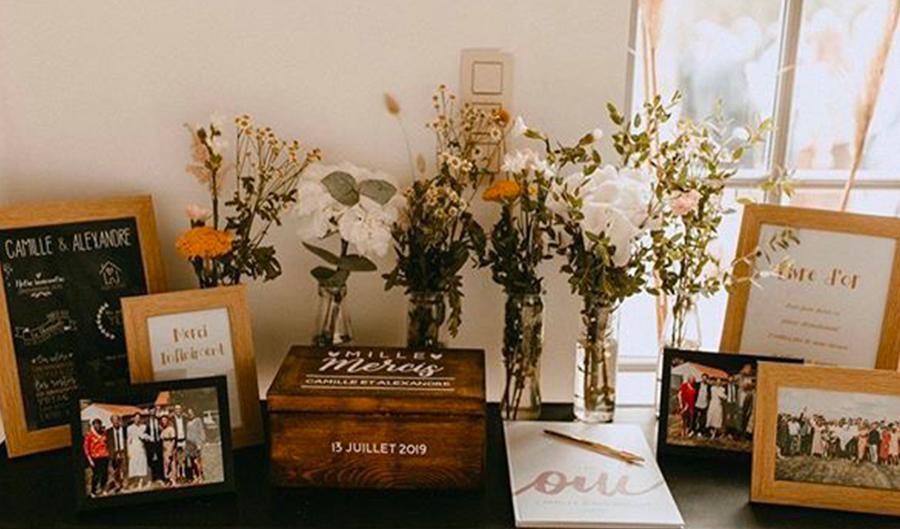 livre d'or personnalisé, mariage sur-mesure, livre souvenir mariage